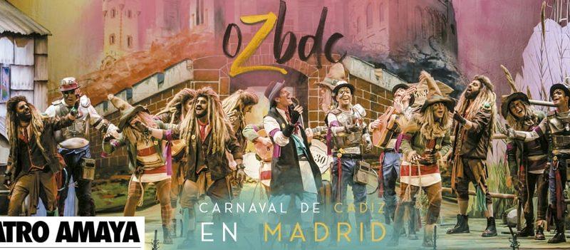carnaval de cádiz en madrid